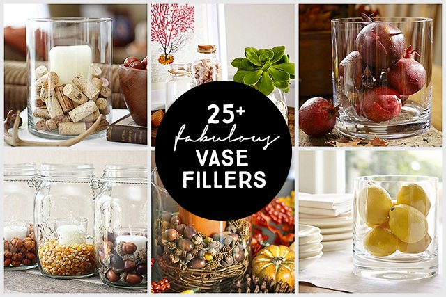 25 Vase Filler Ideas Live Laugh Rowe