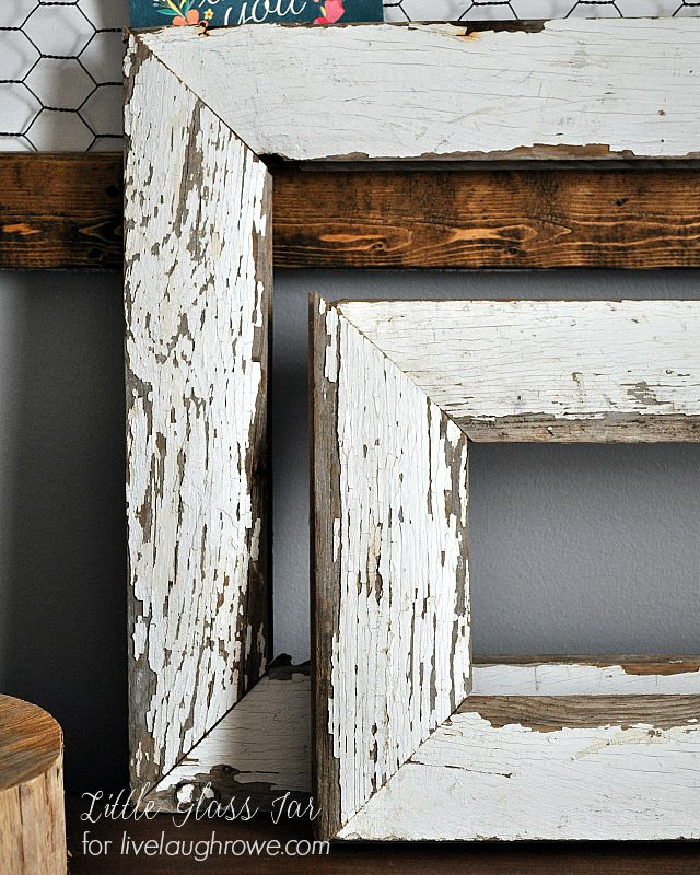 59 Incredibly Simple Rustic Décor Ideas That Can Make Your: DIY Farmhouse Frames