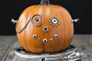 DIY Steampunk Pumpkin   Steam Punkin