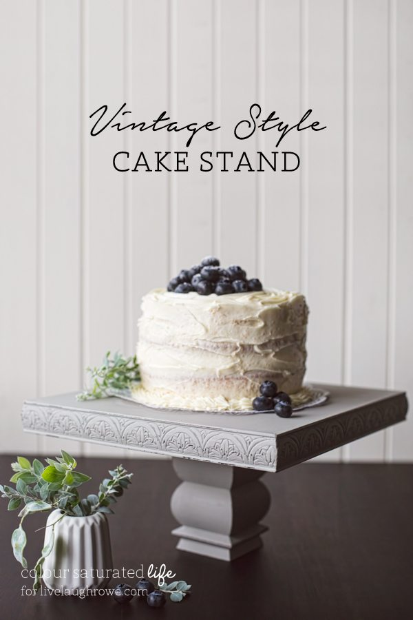 Vintage Style Cake Stand