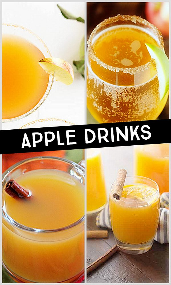 Delicious Apple Drinks