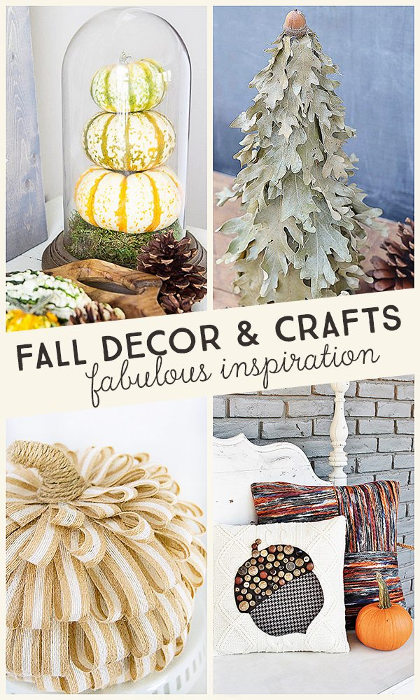 Fall Decor and Crafts. Fabulous Inspiration from party features at Inspiration2