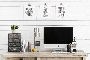 Printables with Inspirational Messages