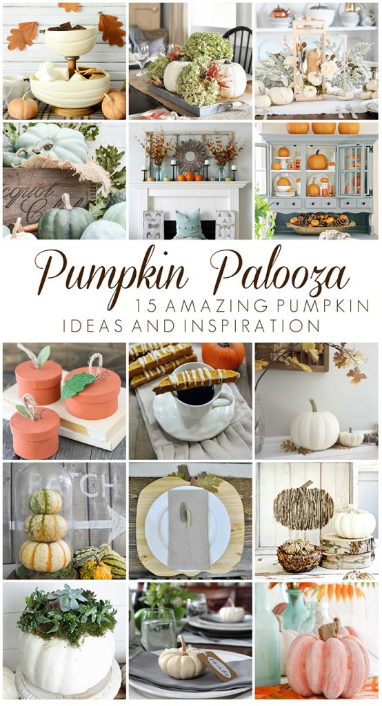 15 Bloggers sharing amazing pumpkin ideas and inspiration! livelaughrowe.com