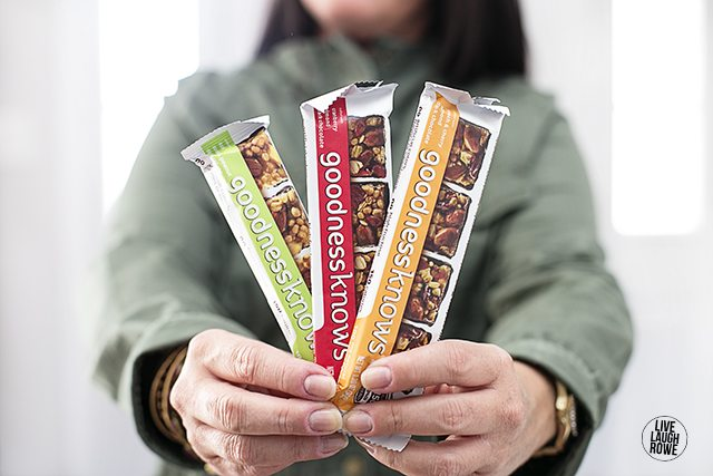 A snack on the go while doing some sightseeing? Try a little goodness with the goodnessknows® bars! www.livelaughrowe.com