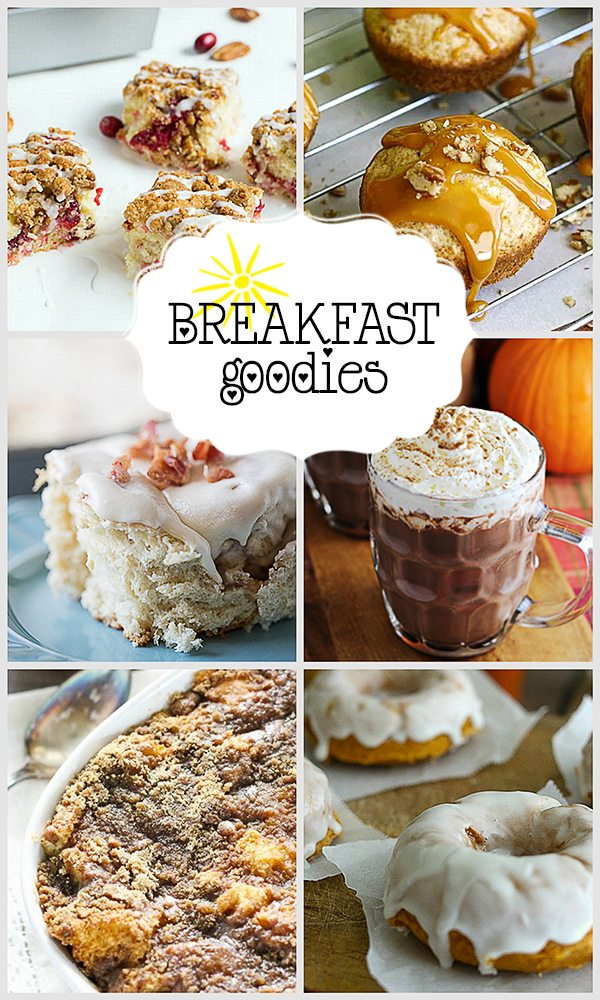 Breakfast Goodies to try this week! Party Features from Inspiration2