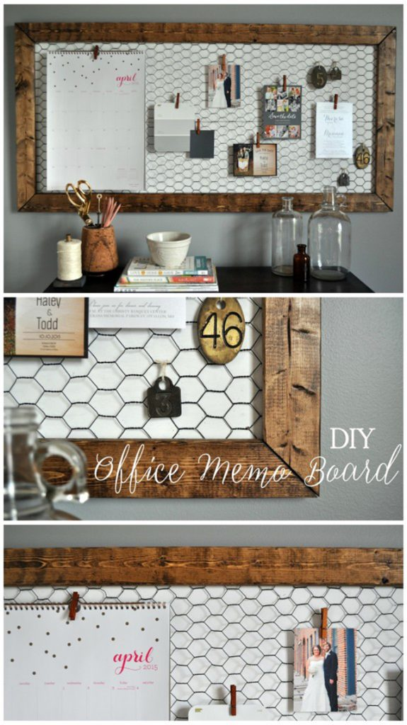 DIY Memo Board by Little Glass Jar
