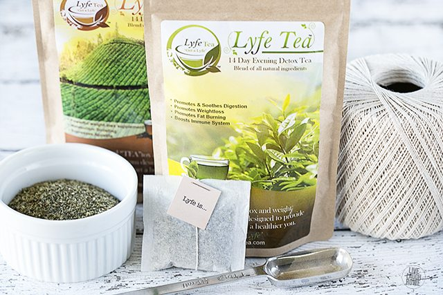 How to make tea bags... the easy way! livelaughrowe.com