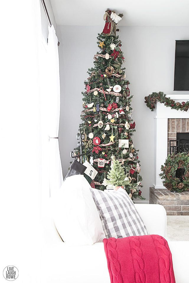 Woodland Christmas Home Tour. livelaughrowe.com