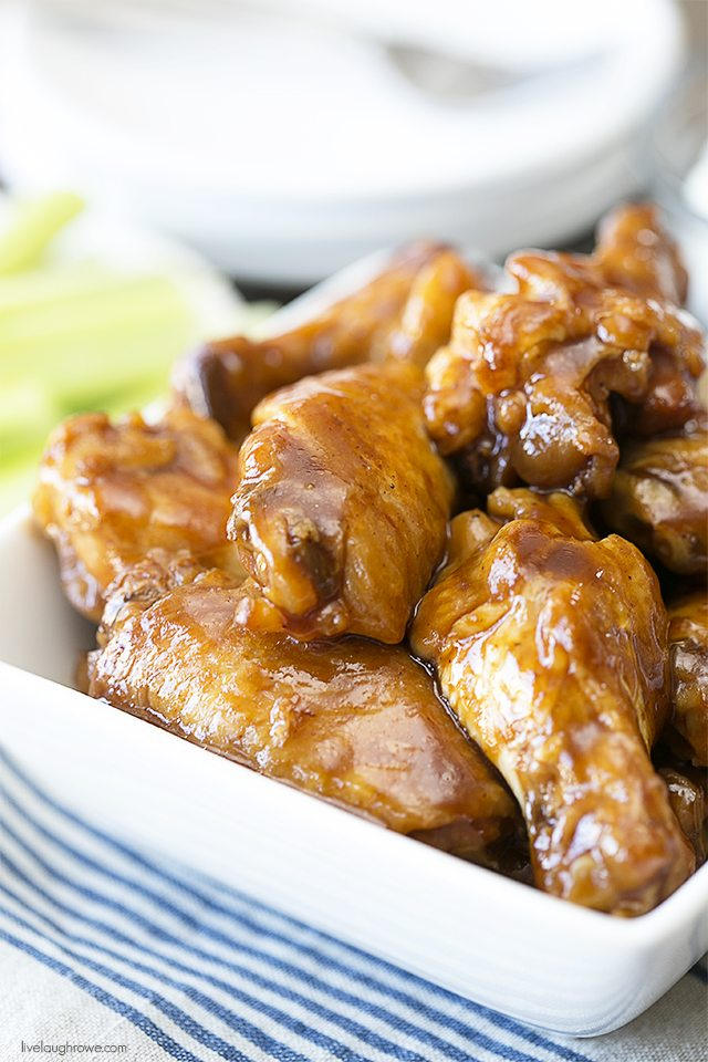 mouth watering chicken wings