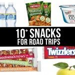 10+ Snacks for Road Trips