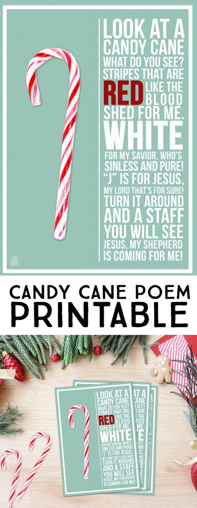 photo about Candy Cane Poem Printable called Sweet Cane Poem Printable - Stay Chuckle Rowe