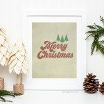 Merry Christmas Printables | Vintage Inspired