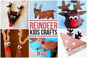 25+ Reindeer Crafts for Kids