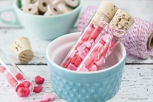 Creamy Pastel Mints for Valentine's Day