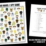 Free Star Wars Game | I Spy Printable