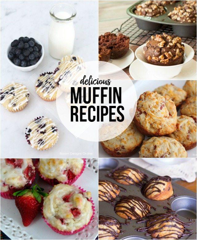 Six Delicious Muffin Recipes