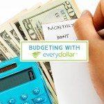 Budgeting with EveryDollar