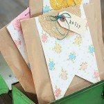 Printable Pennants for Creative Gift Wrap