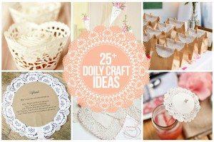 25+ Doily Craft Ideas