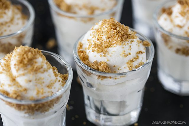 Easy No-Bake Cheesecake Mousse that resembles the mouthwatering New York-Style Cheesecake. One serving of this dessert simply won't do! livelaughrowe.com