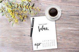 April 2016 Calendar | Free Printable