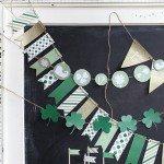 Printable St. Patrick's Day Banner