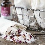 Rose Scented Homemade Bath Tea