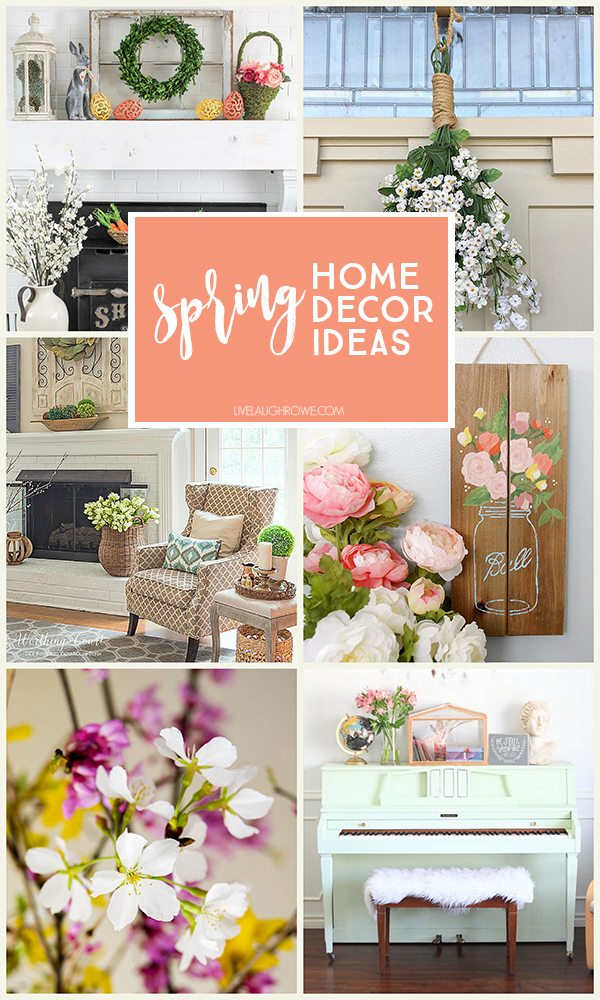 spring home decor ideas to inspire you