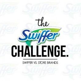 The Swiffer Challenge proves why you shouldn't buy store brands for your dry or wet sweepers! livelaughrowe.com