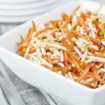 Apple Carrot Salad with Pistachios