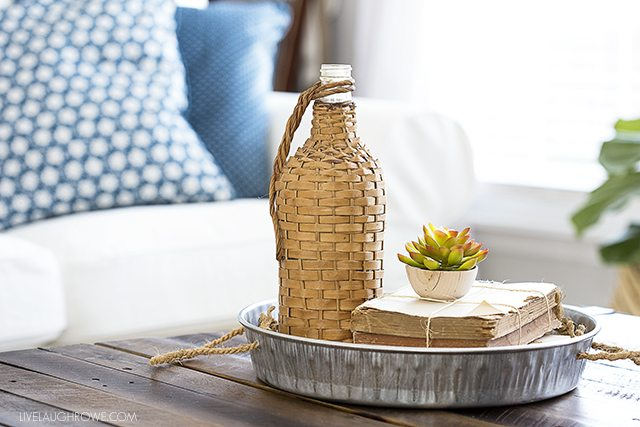 Make your own galvanized tray with just two supplies -- and for less than $8.00. Find this easy DIY tutorial at livelaughrowe.com