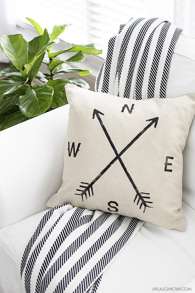 New Farmhouse Pillow Cover And A Pillow Obsession