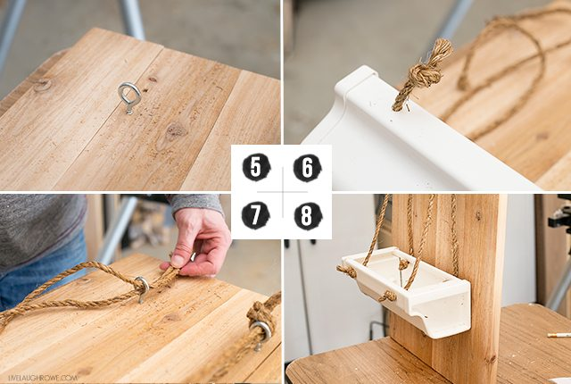 Step by step instructions on how to build this fabulous Rustic Hanging Gutter Planter. livelaughrowe.com