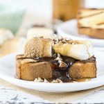 Turtle S'mores Cake