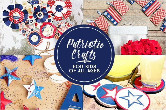 Patriotic crafts for kids of all ages party time live for Fun crafts for all ages