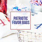 Patriotic Favor Bags