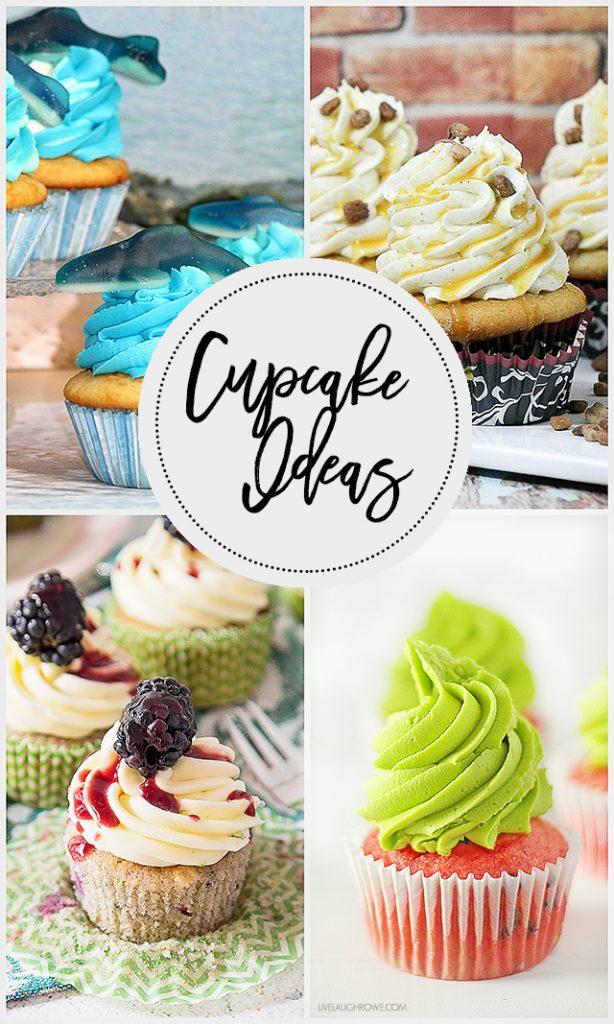 Delicious cupcake ideas to inspire you to do some baking! livelaughrowe.com