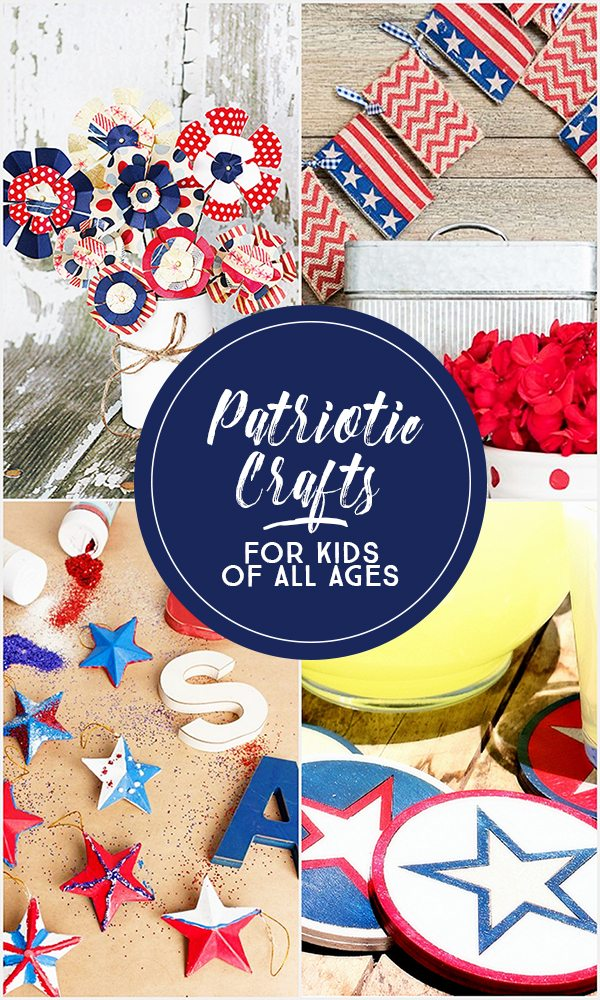Patriotic Crafts for Kids of all Ages. livelaughrowe.com