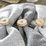 Birch Napkin Rings | Simple Rustic DIY
