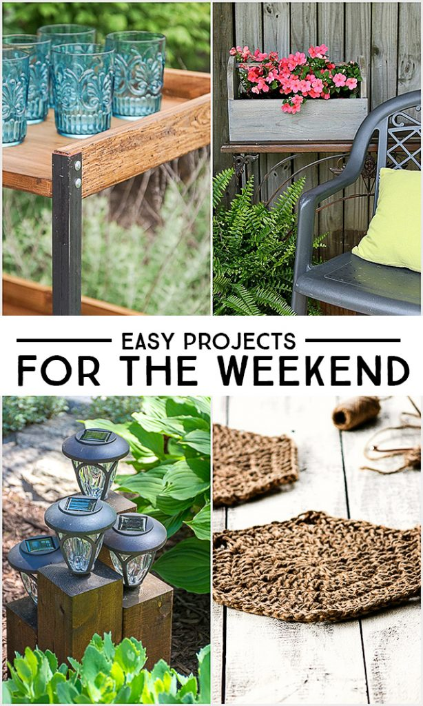 Nine easy projects for the Weekend DIYer! livelaughrowe.com