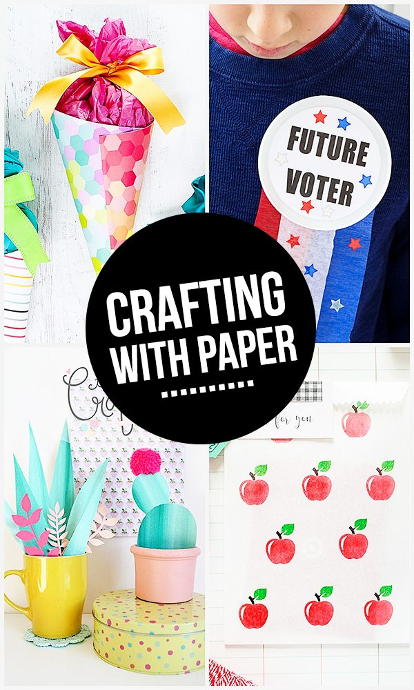 Like to craft? Like paper? These projects feature crafting with paper! They're sure to inspire you! livelaughrowe.com