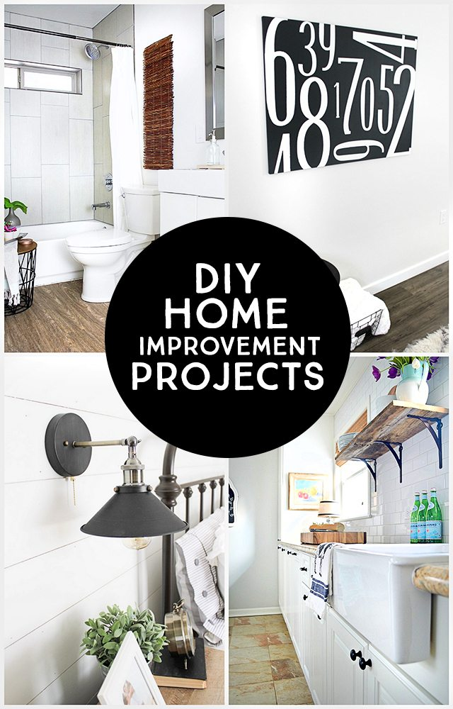 Diy home improvement projects live laugh rowe Home improvement ideas