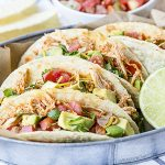 Turn ordinary chicken into flavorful tacos! These Easy Chicken Tacos are sure to be a new favorite for Taco Tuesdays. livelaughrowe.com