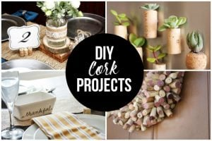 DIY Cork Projects — Over 20 Ideas!