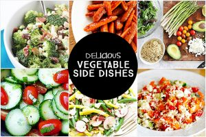 Delicious Vegetable Side Dishes