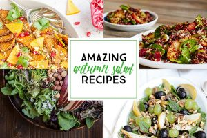 Fifteen Autumn Salad Recipes