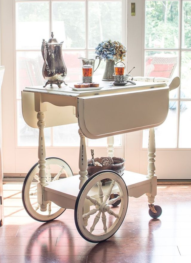 tea-cart-makeover