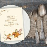 Thankful Printable | Thanksgiving Print