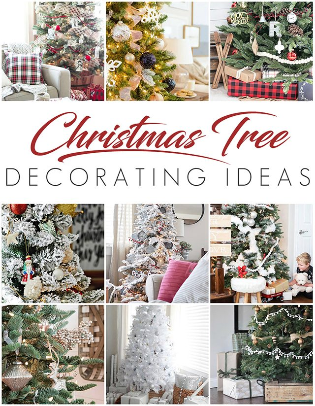 NINE beautiful trees to inspire your holiday decor! livelaughrowe.com